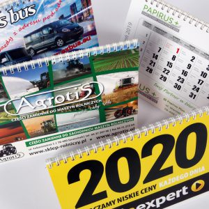 Kalendarzyki biurkowe